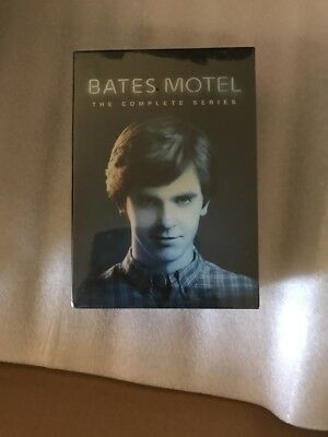 Bates Motel: Complete Horror TV Series Seasons 1 2 3 4 5 Boxed DVD Set NEW!