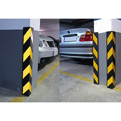 Rubber Corner Guard Wall Protectors - L Shape, Rounded Edge - Electriduct