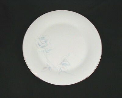 "Noritake ""VIRTUE"" Dinner Plate (s)- Platinum Trim- 10 1/2 inch"