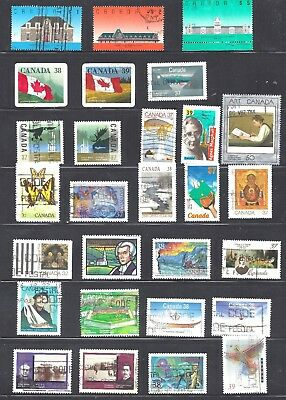 Canada SELECTION OF DIFFERENT USED SCOTT 1181/1278 (BS10339)