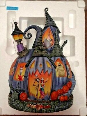 Tim Burton - The Nightmare Before Christmas Masterpiece Pumpkin Collectable New