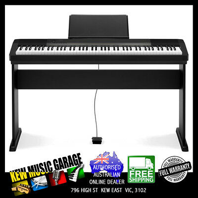 Casio Cdp135 Bk 88 Note Hammer Action Digital Piano Kit