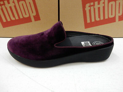 f7731578fcd4 Fitflop Womens Superskate Mules In Velvet Deep Plum Size 7