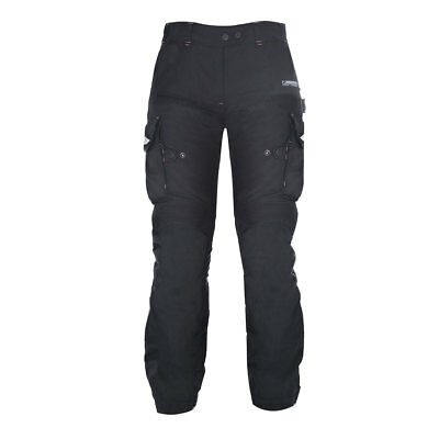 Oxford Montreal 2.0 Tech Black Motorrad Motorcycle Long Ladies Trouser All Sizes