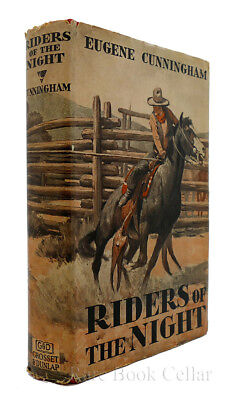 Eugene Cunningham RIDERS OF THE NIGHT Vintage Copy