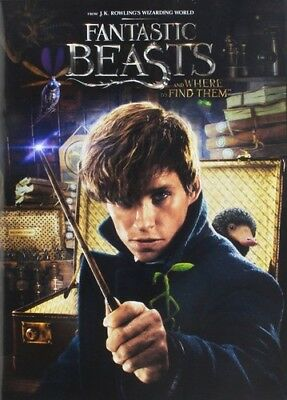 Fantastic Beasts & Where To Find Them (REGION 1 DVD New)