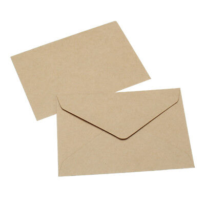 20Pcs/Set Postcard Kraft Paper Envelopes DIY Letter Invitation Card Classical