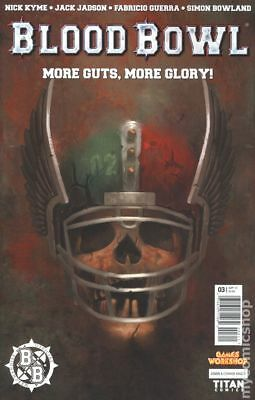 Blood Bowl More Guts More Glory (2017 Titan) #3A NM STOCK IMAGE
