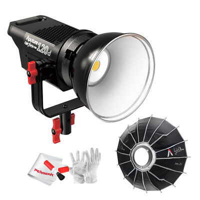Aputure Light Storm LS COB 120D LED Continuous Video Light (V-mount)+ Light Dome