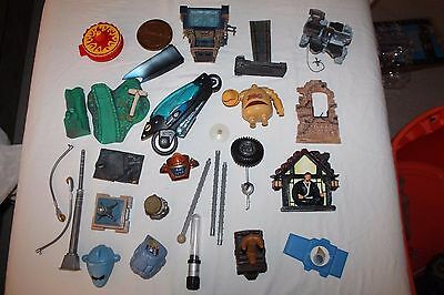 Marvel Legends Dc Comics Action Figure Lot Of Parts And Accessories ~ Weapons