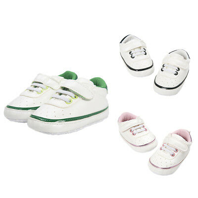 Baby Cute Sports Soft Sole Canvas Baby Pram Antislip Shoes for 0-18 Months