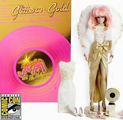 SDCC 2013 Comic Con Jem & The Holograms: Glitter N' Gold Jem Doll-Factory Sealed