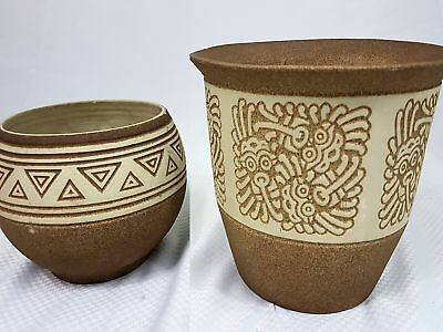 Handmade Hand Painted Ceramic Flower Pots SC-0026