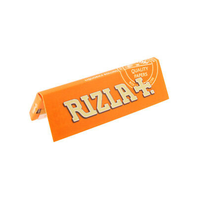 RIZLA Liquorice Standard regular Genuine Cigarette Rolling Papers Smoking Cheap!
