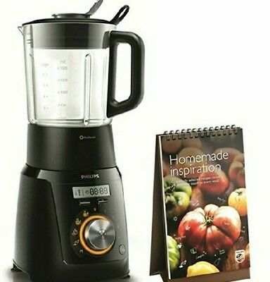 Philips HR2099/90 Avance Collection Cooking Blender 1100W 2L Glass Jar