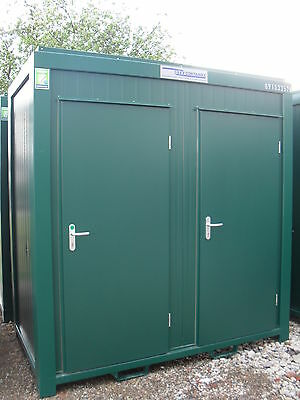 NEW Containex Twin Toilet 8ft x 5ft with Fork Lift Pockets. £2950.00+vat
