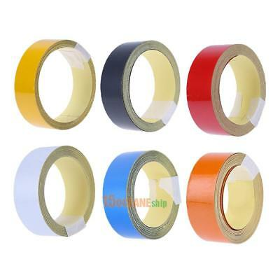 2cmx5m Car Truck Reflective Roll Tape Film Warning Safety Sticker Decal Decor