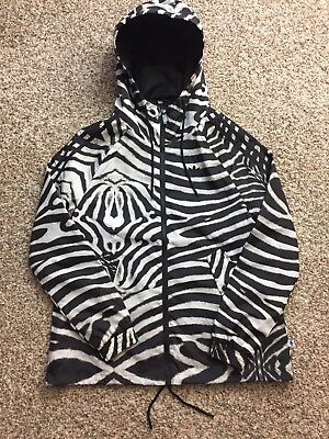 bf11508e0 ADIDAS ORIGINALS WOMEN S Track Jacket S-M Zebra Black Supergirl Size ...