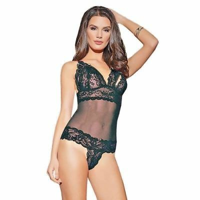 Women Sexy/Sissy Lace Nightwear Backless Babydoll Bodysuit Lingerie Sleepwear