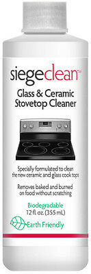 775L - Siege 12 Ounce Earth Friendly Glass & Ceramic Stove-top Cleaner