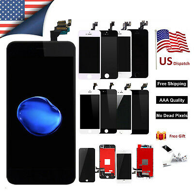 For Apple iPhone 6 6s 5 Complete Touch LCD Screen Replacement Home Button&Camera