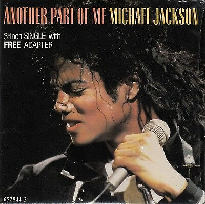 "Michael Jackson Maxi CD 3"" Another Part Of Me - Europe (M/M)"