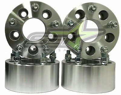 """4PC 5x5.5 Wheel Spacers 9/16 Studs   3"""" Inch Thick   5x139.7 Dodge Ram Spacers"""
