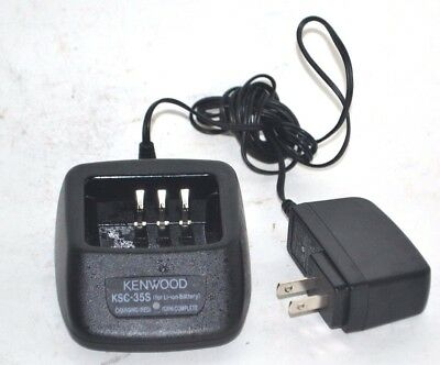 Kenwood KSC-35S Rapid Charger with adapter ,  TK-2300