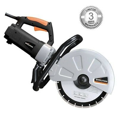 Hand Held Electric Concrete Cutter Masonry Saw Construction Tool Cut Brick Tools
