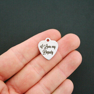 World/'s Best Dad Dad Stainless Steel Charm BFS560 Quantity Options