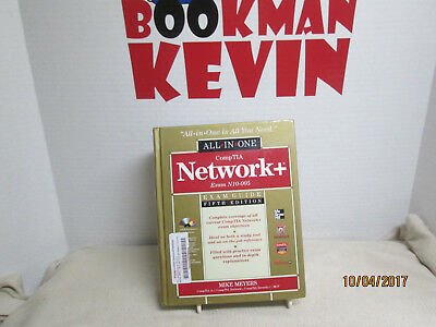 McGraw All in one CompTIA Network+ Exam N10-005 Guide w/CD 5th ed (2012VG+(4-9-3