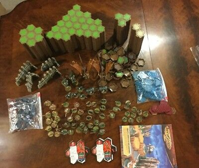 Heroscape Rise Of The Valkyrie Master Set Plus Extras - Almost 2 Full Sets