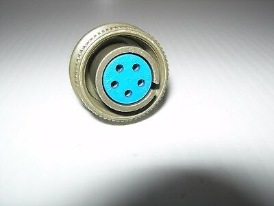 Amphenol 97-3106A-14S-5S 5 Pin Female Mil Spec Circular Connector