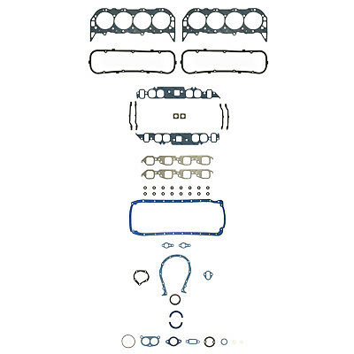 Engine Gasket Set fits 1965-1971 Pontiac Beaumont Parisienne,Strato-Chief Acadia