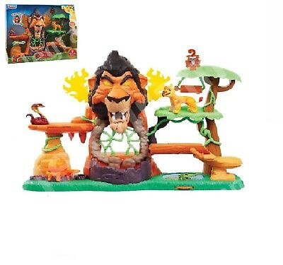 Disney Junior's The Rise of Scar Lion Guard Play Set Monkey Fun Lights and Sound