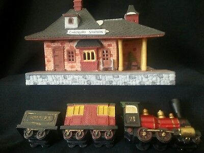 Dept, Department 56 Dickens Village Train and Lighted Station, Chadbury Station