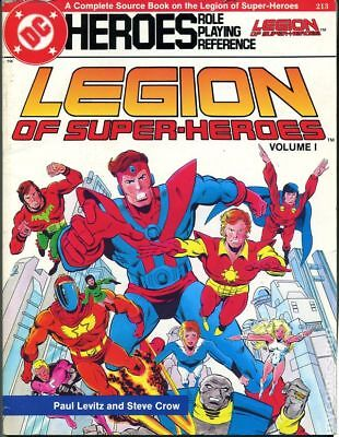 DC Heroes Role-Playing Reference Legion of Super-Heroes SC #1-1ST FN STOCK IMAGE