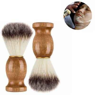 New 100% Pure Badger Hair Shaving Badger Brush for Men's For All Skin Types Wood