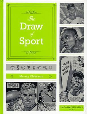 Draw of Sport HC (2017 Fantagraphics) By Murray Olderman #1-1ST NM STOCK IMAGE