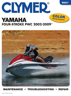 2002-2004 YAMAHA FX140 Cruiser Repair Manual Clymer W807 Service