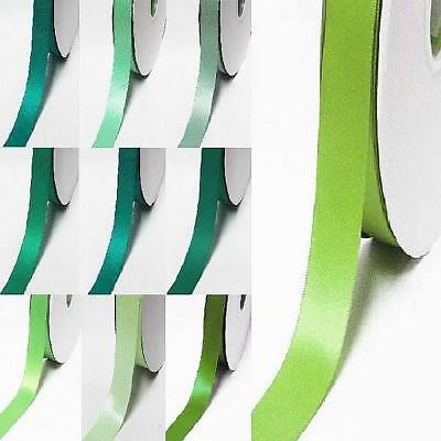 """wholesale 100 yards double faced satin ribbon 1"""" / 25mm.lime to green"""