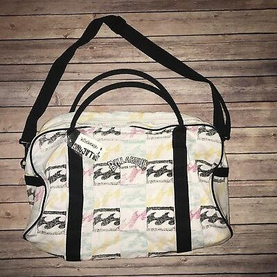 Billabong Large Weekend Overnight Carry On Luggage Gym Duffel Travel Bag NWT