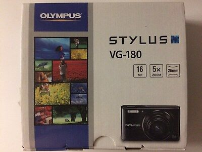 OLYMPUS STYLUS VG-180 CAMERA Brand New Factory Sealed
