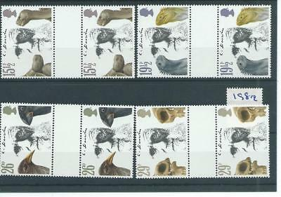 wbc. - GB - COMMEMS - 1982 - CHARLES DARWIN - GUTTER PAIRS - UNM MINT SETS