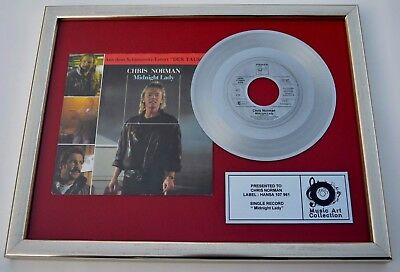 "CHRIS NORMAN SINGLE BILD 7""  records sammlung POP (smokie Supermax SIMPLE MINDS)"