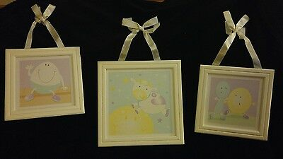 Wamsutta 3 pack Wall Pictures for Baby