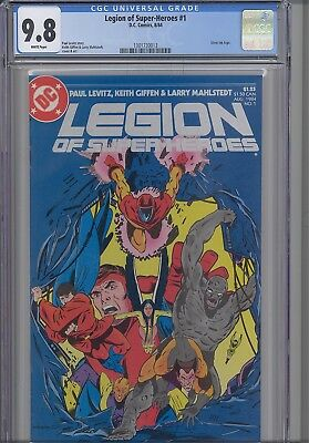 Legion of Super Heroes #1  CGC 9.8 1984 DC Comic: Silver Logo: with a  New Frame