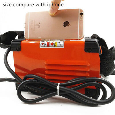 Handheld Mini MMA Electric Welder 220V 20-250A Inverter ARC Machine Tool Superb