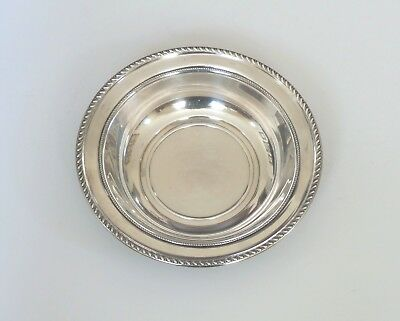 "ALVIN Sterling Silver Deep 10"" Fruit Bowl # D 1003, 335 grams"