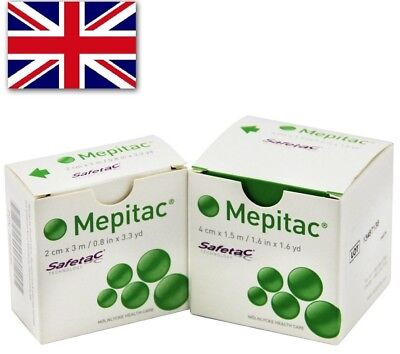 Mepitac Soft Silicone Tape | All Sizes | TRUSTED UK SELLER